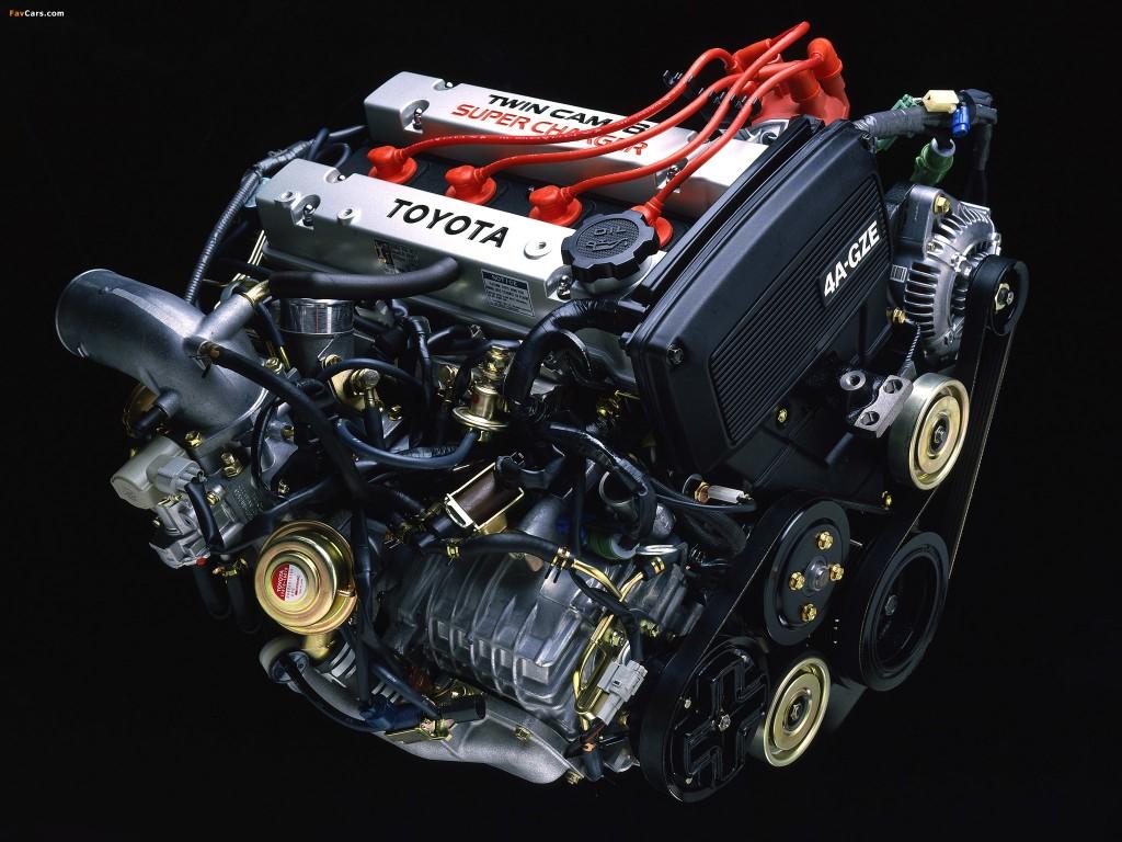 Toyota Mr2 Aw11 El Primer Motor Central Nip 243 N