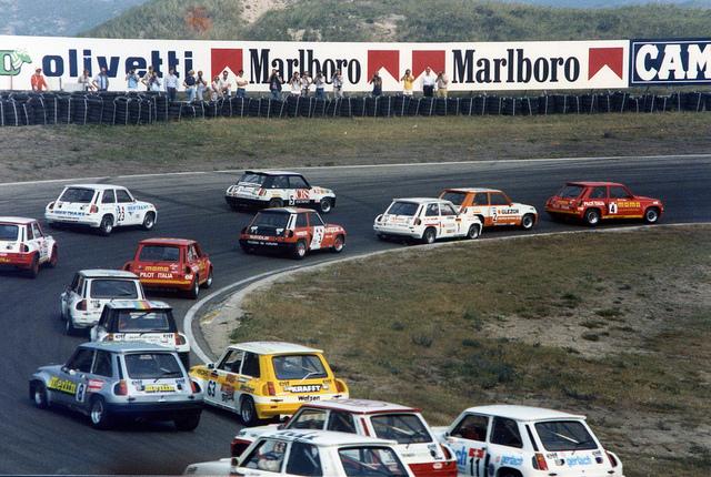 1984 GP Zandvoort - Renault 5 Turbo  #4 Massimo Sigala, #2 Michael Bleekemolen, #1 Wolfgang Schütz, #3 Joel Gouhier