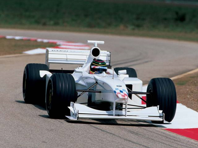 Williams-BMW FW21B, FW20 (1999, Miramas, Jörg Müller)