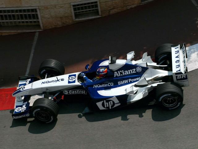 Williams-BMW FW25 (01-06-2003, GP de Mónaco, Juan P. Montoya)