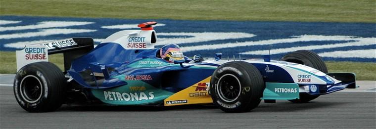 Sauber-Petronas C24 (19-06-2005, Indianápolis, GP de USA, Jacques Villeneuve)