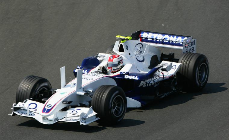 Sauber-BMW F1.06 (16-7-2006, Magny-Cours, GP de Francia, Robert Kubica).