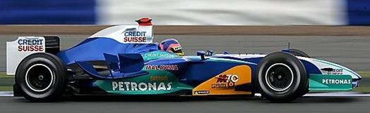 Sauber-Petronas C24 (10-07-2005, Silverstone, GP de UK, Jacques Villeneuve)
