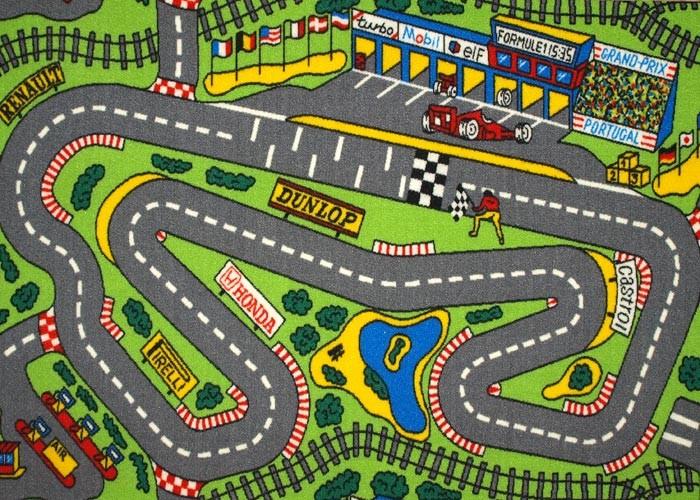 Ese sentimiento que llevamos dentro - Alfombra circuito coches ...