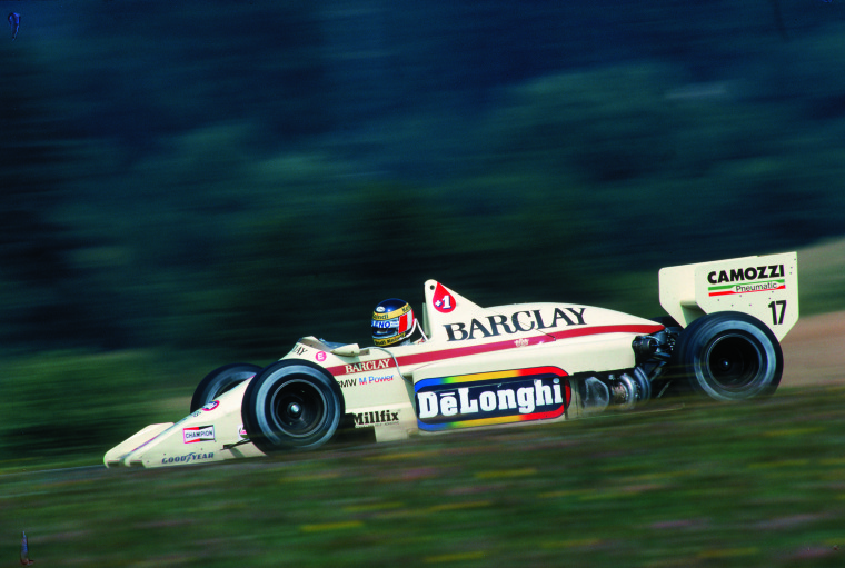 Arrows-BMW A8 (18-08-1985, Österreichring, GP de Austria, Gerhard Berger).