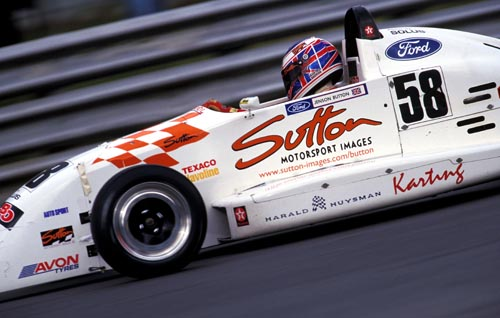 Sutton Motorsport Images sponsored Jenson Button (GBR). Formula Ford Festival & World Cup, Brands Hatch, England. 25 October 1998.